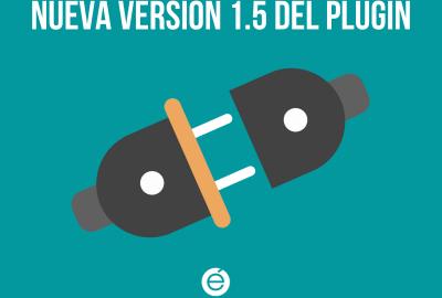 Llega la nueva versión del plugin, la 1.5